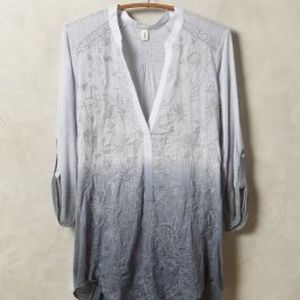Anthropologie ombre popover/gray/NWT/L